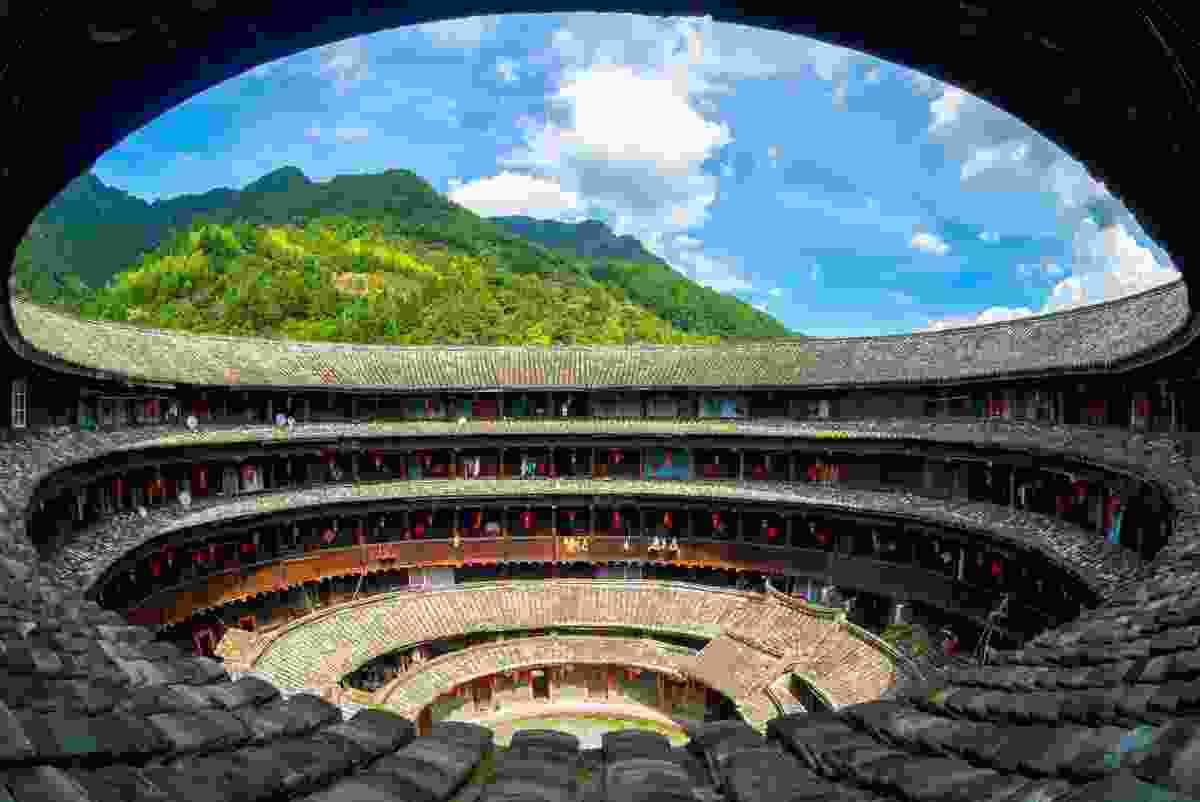 Fujian Tulou, China (Shutterstock)