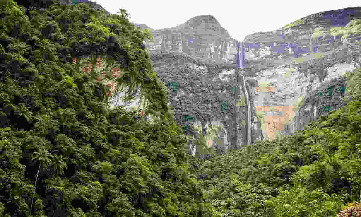 Gocta Falls in northern Peru (Shutterstock)
