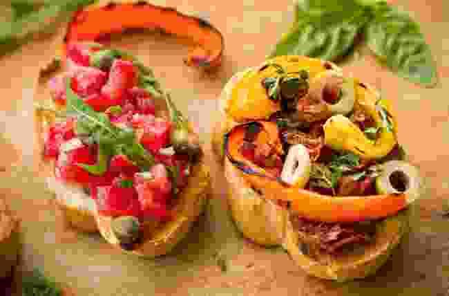Tomato bruschetta (Shutterstock)