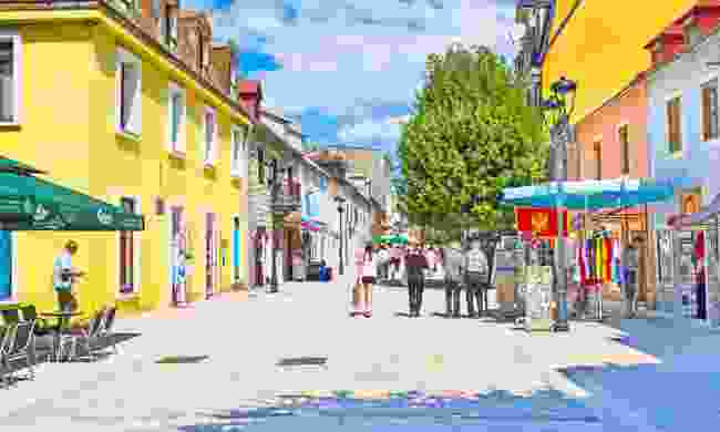 The colourful town of Cetinje (Dreamstime)