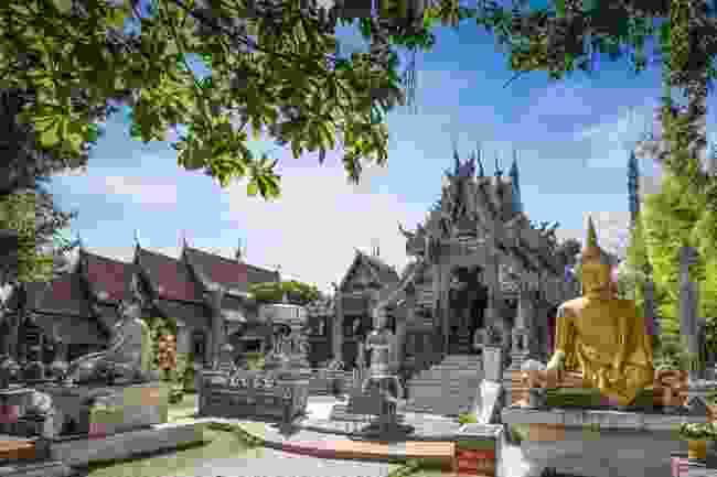 Sri Suphan, aka Silver Temple (Shutterstock)