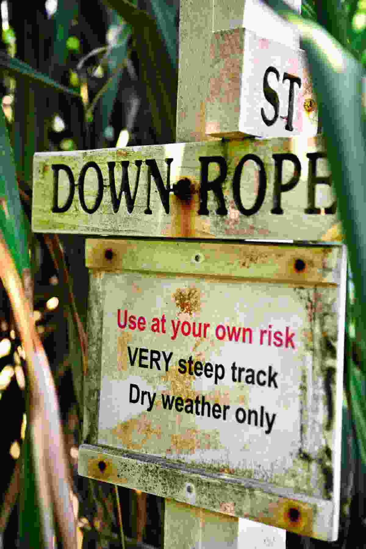 'Down Rope' sign (Mark Stratton)