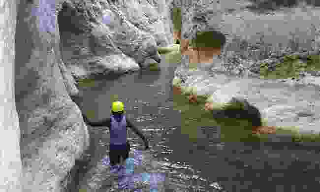 Canyoning in Castellón (Castellón Tourist Board)