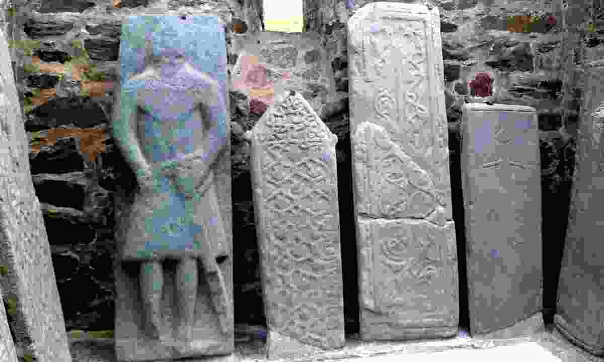 Ancient carved stones found in Kilmartin Glen (Dreamstime)