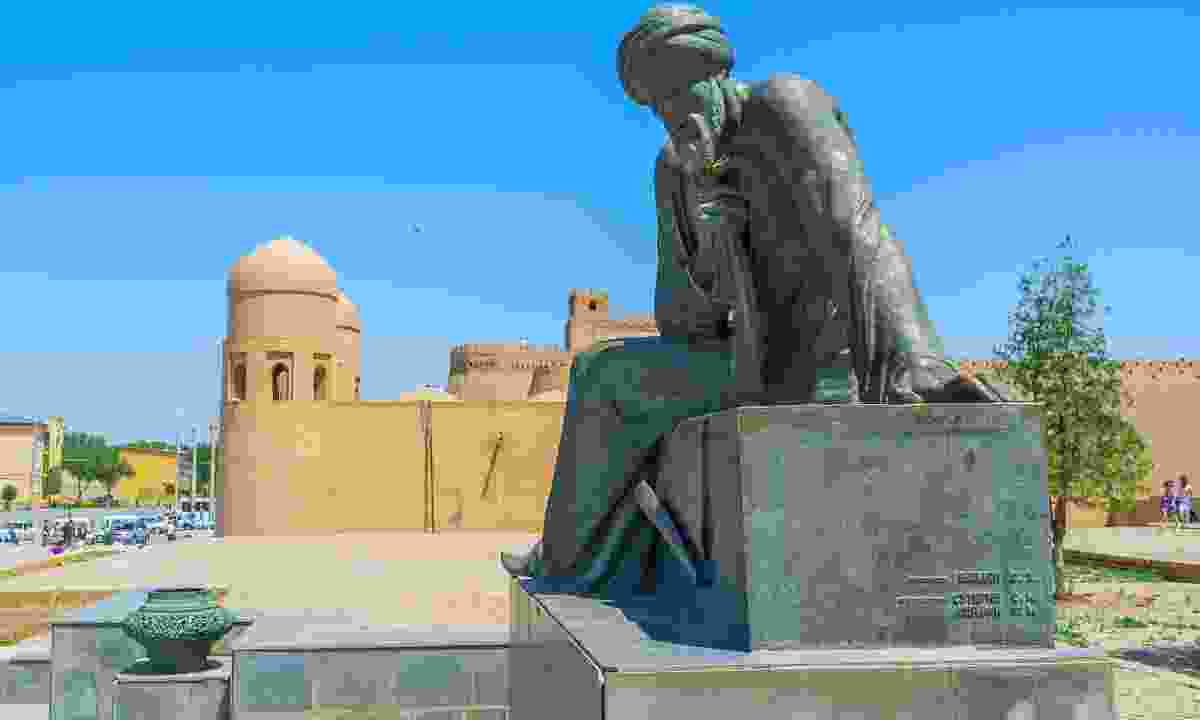 Muhammad ibn Musa al-Khwarizmi monument in Khiva (Dreamstime)