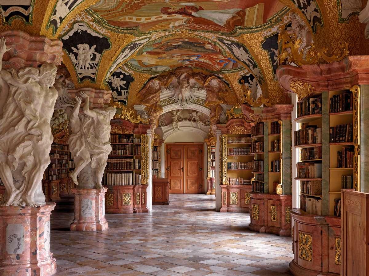 Klosterbibliothek Metten (Massimo Listri/TASCHEN)