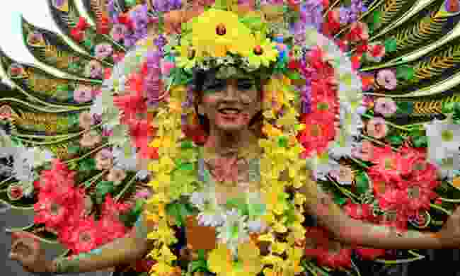Celebrating Medellin's Festival of Flowers (Shutterstock)