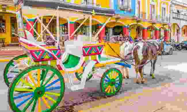 Horse-drawn cart in Granada (Shutterstock)