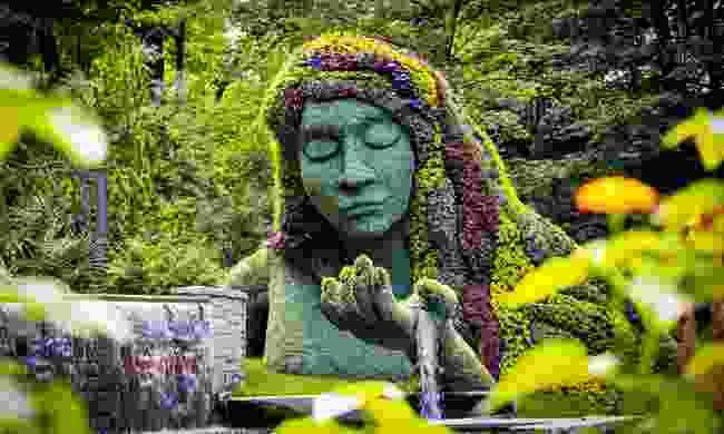 Garden art at the Atlanta Botanical Gardens (Shutterstock)