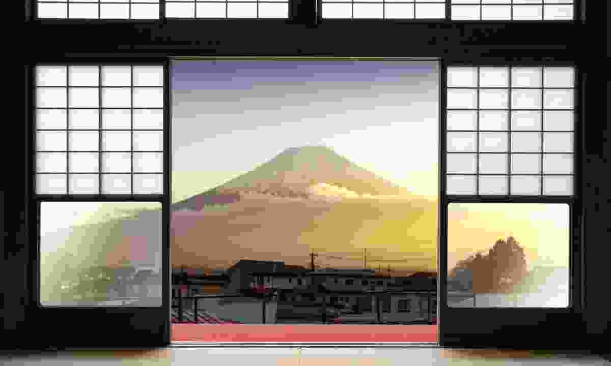 View from a ryokan (Shutterstock)