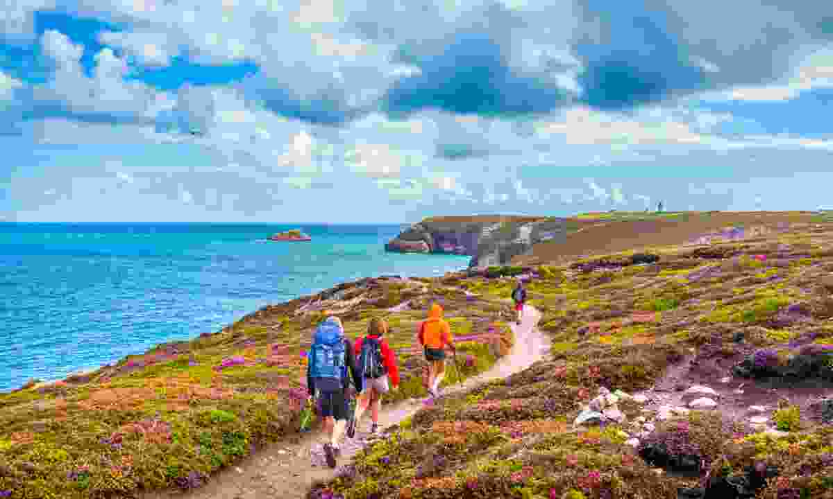 Hike along its stunning coast paths (Fotolia)