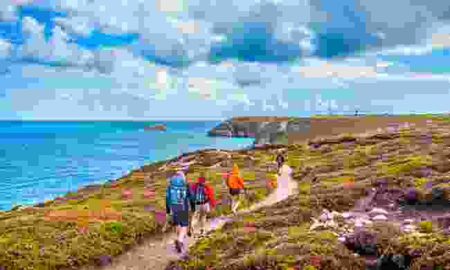Hike along its stunning coast paths (Fotolia)