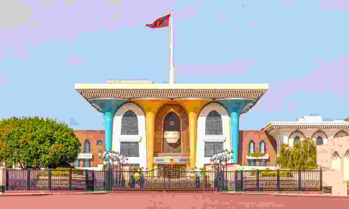 Al Alam Palace (Dreamstime)