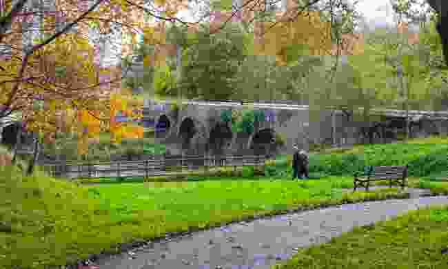 A bridge at Minnowburn (Dreamstime)