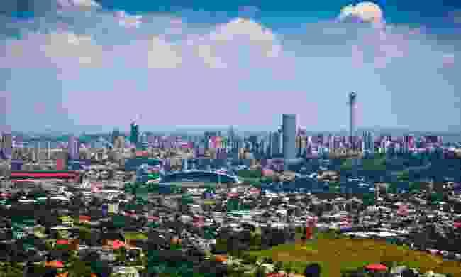 Johannesburg's skyline (Dreamstime)