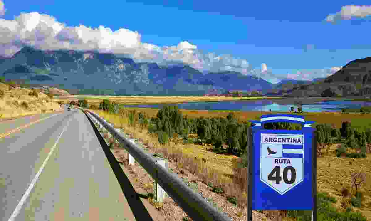 The famous Route 40 runs parallel to the Andes (Dreamstime)