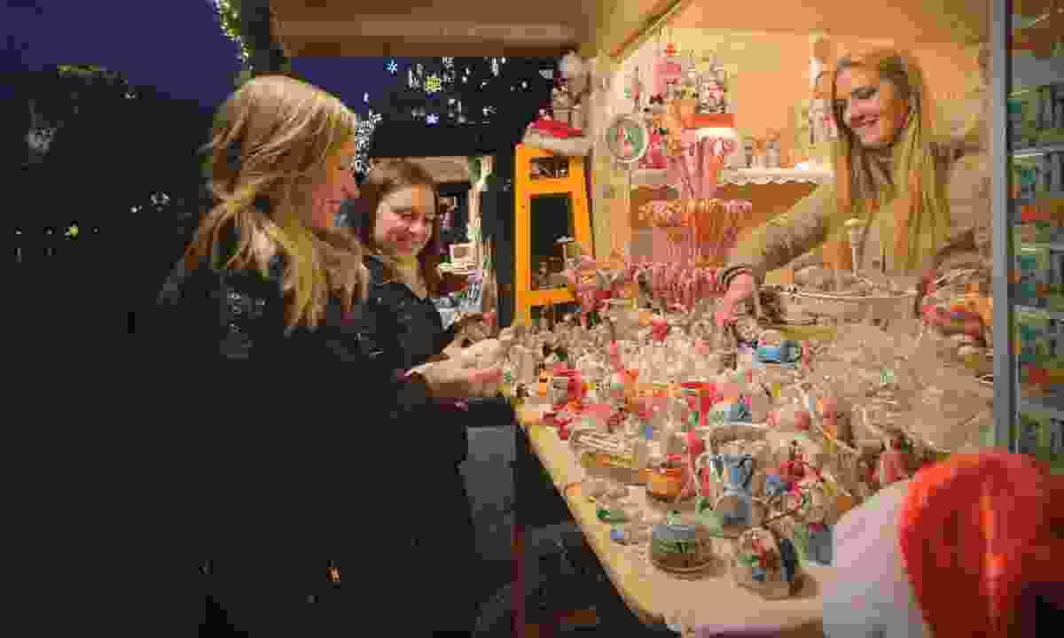 Christmas market stall (Slovenian Tourist Board)
