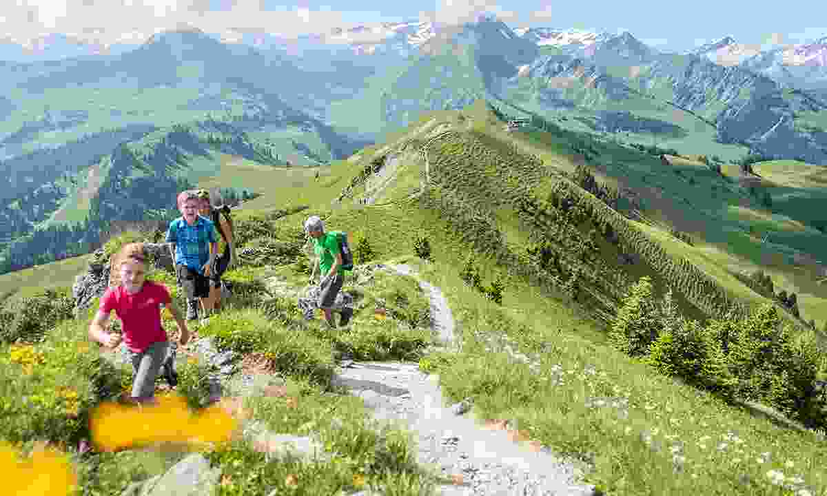 Ramble on the Rinderberg (Destination Gstaad)