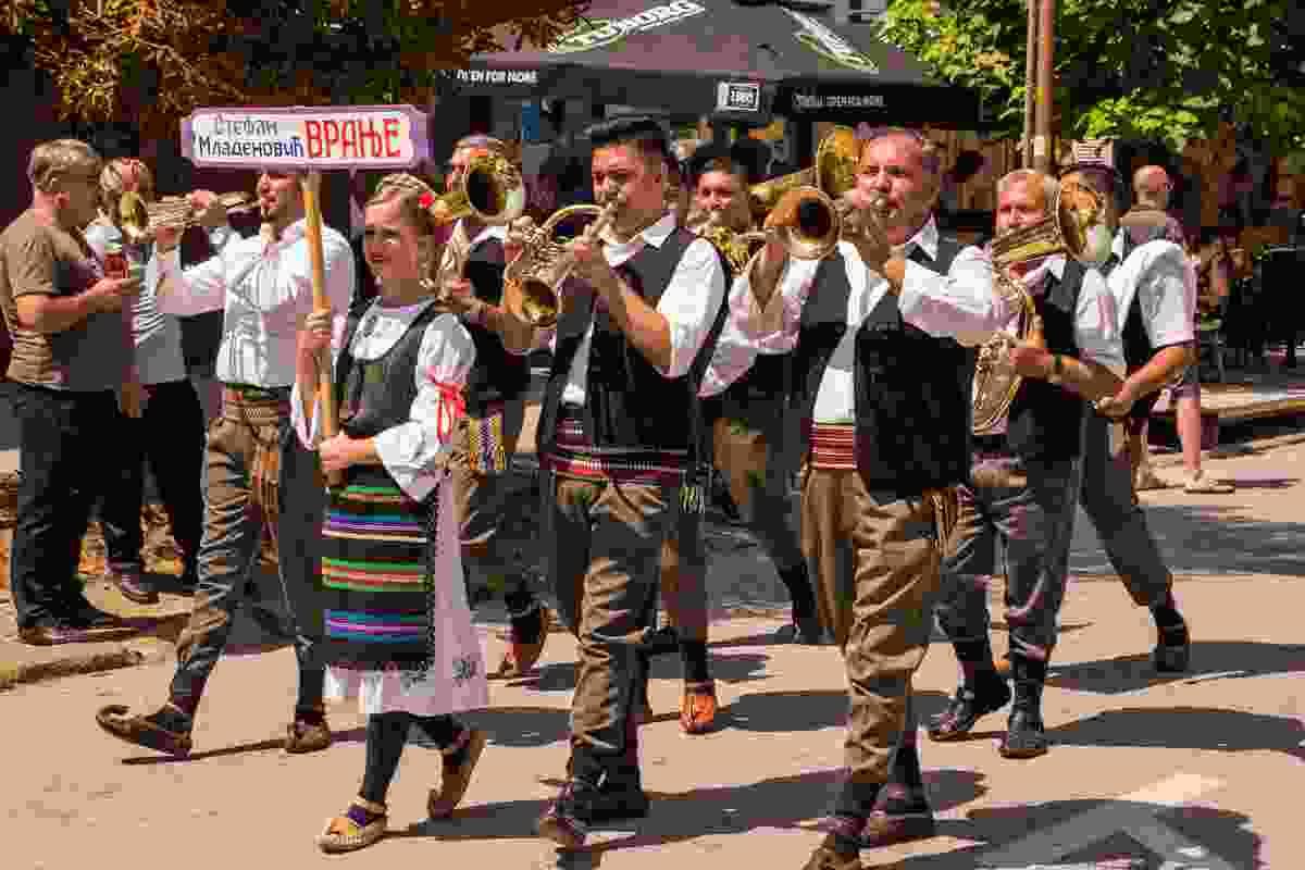 Guča, Serbia's famous Trumpet Festival (Shutterstock)