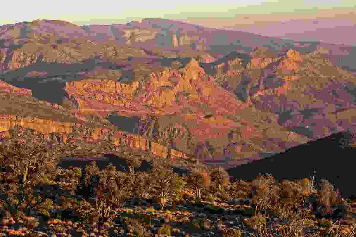 Hajar mountains, Oman (Shutterstock)