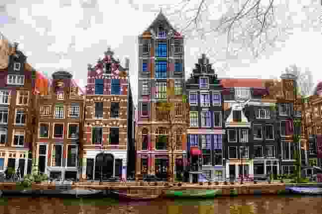 Houses along Herengracht, Amsterdam (Shutterstock)