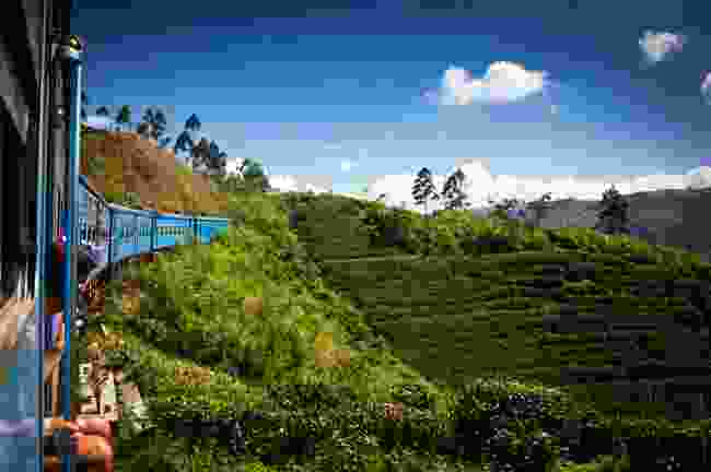 The train from Nuwara Eliya and Ella, Sri Lanka (Shutterstock)