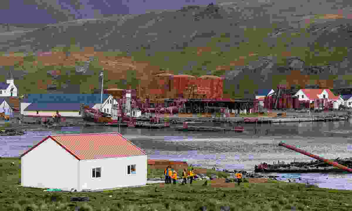 Retrace the steps of Shackleton at Grytviken Harbour (Nicky Souness)