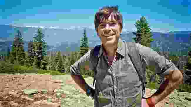 Simon in Kings Canyon National Park, California (BBC/Ruairi Dunne)