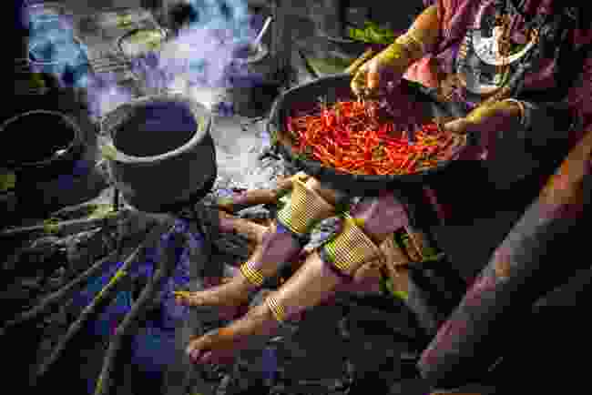 Kayaw Kitchen. Loikaw, Kayah State, Myanmar (Burma) (Ko Ko Zaw)