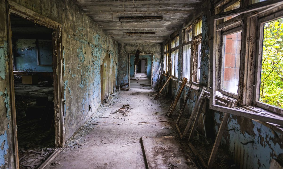 Abandoned school in Pripyat (Dreamstime)