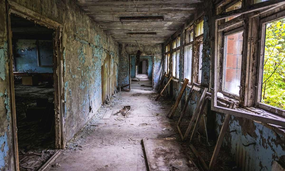 Abandoned school in Pripyat (Dreamstime)