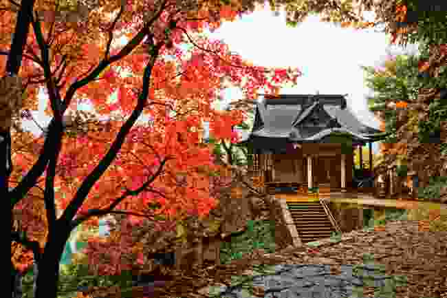 Yamadera Temple, Yamagata Prefecture, during autumn (shutterstock)