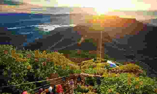 A valley view from Adam's Peak (Shutterstock)