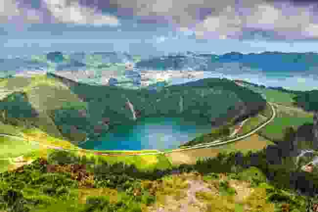 Explore the Azores, a mid-Atlantic archipelago (Shutterstock)