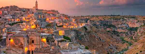 The view of Matera, Italy (Shutterstock)
