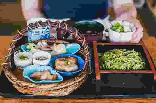 Sample local specialities in Nara (Shutterstock)
