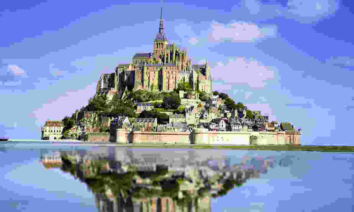 Mont St-Michel  dominating the border in Normandy (Shutterstock)