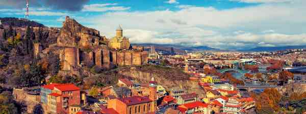 Tbilisi, the capital of Georgia, makes an ideal short break in Europe (Shutterstock)