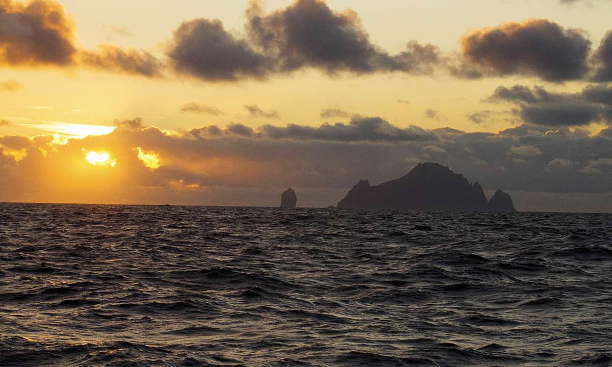 Sailing out to one of Britain's most remote islands (Phoebe Smith)