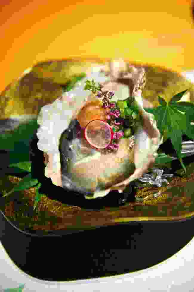 Kaiseki dish (Mark Stratton)