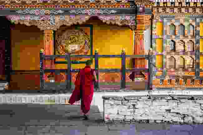 A monastery in Paro, Bhutan (Shutterstock)
