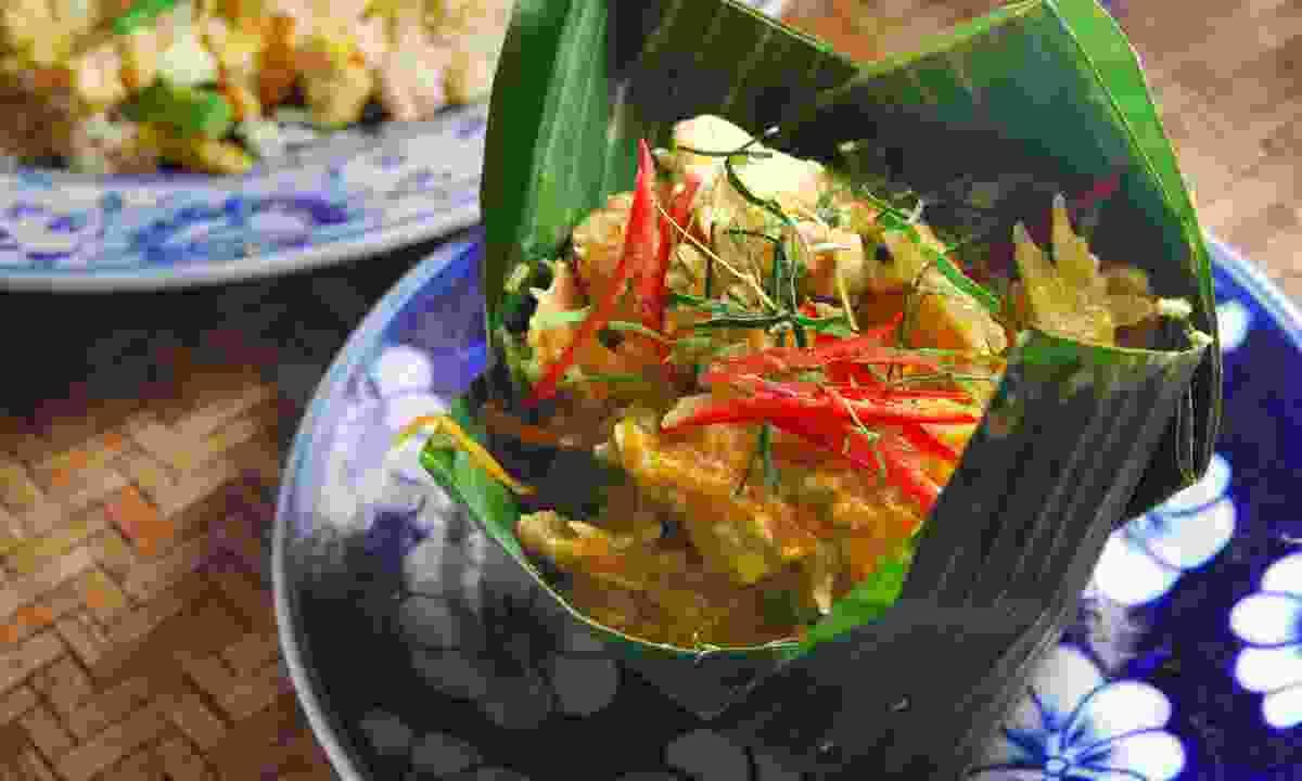 Amok steam fish - a Cambodian classic (Dreamstime)