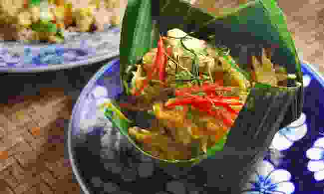 Amok steam fish - a Cambodian classic (Dreamstime)