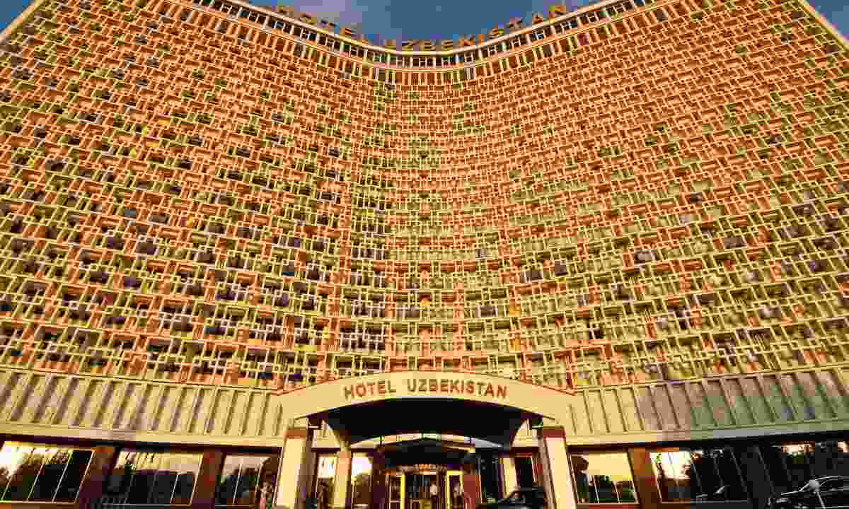 Hotel Uzbekistan in Tashkent (Dreamstime)