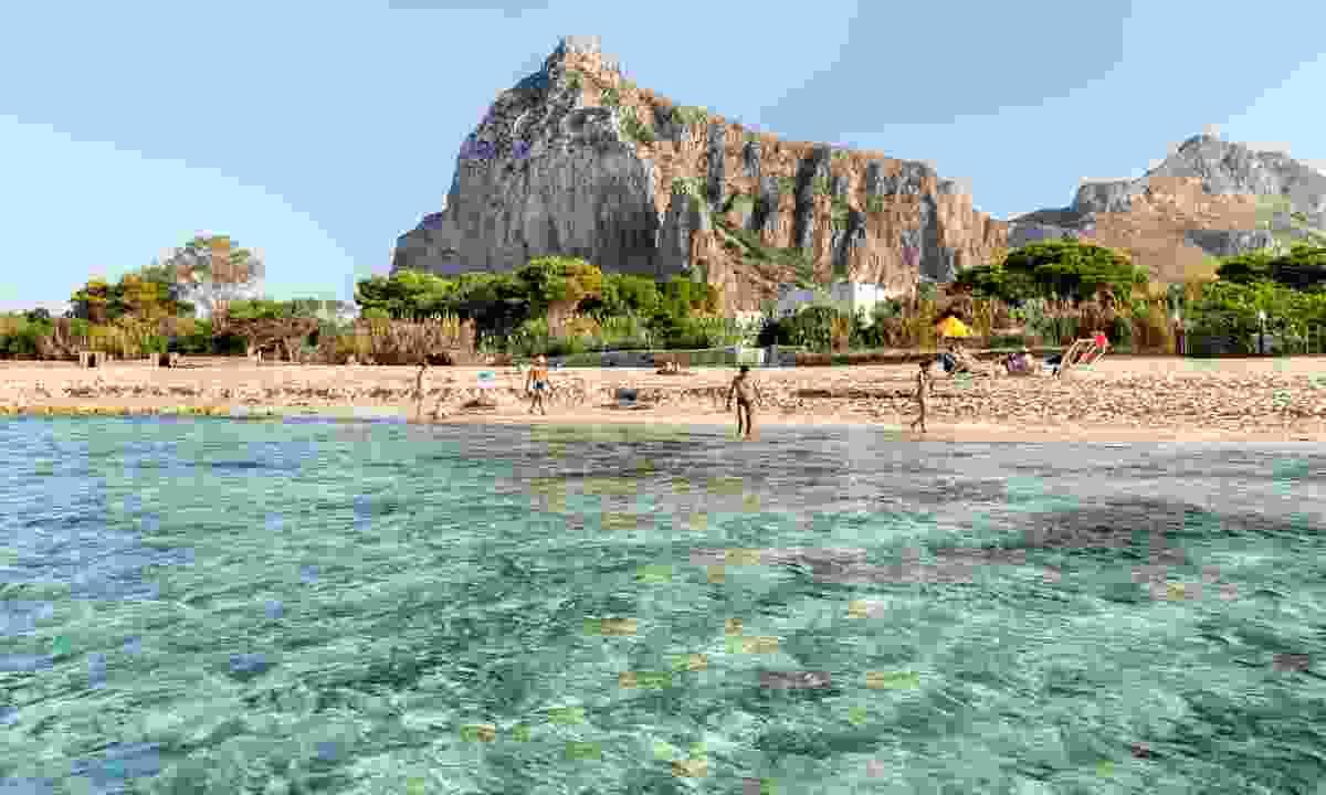 The beach at San Vito Lo Capo in Sicily (Dreamstime)