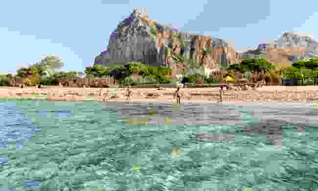 The beach at San Vito Lo Capo in Sicily (Dreamstime)