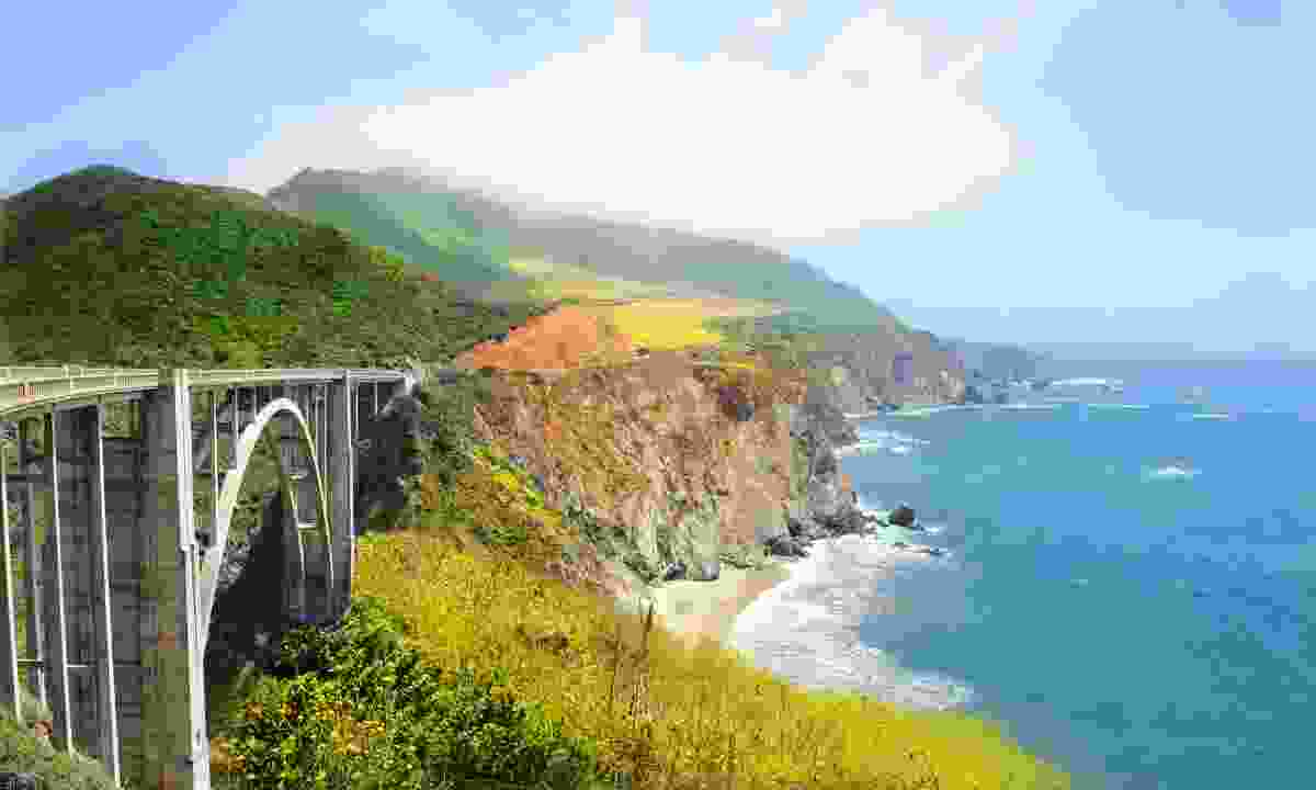 Bixby Bridge on the Big Sur (Dreamstime)