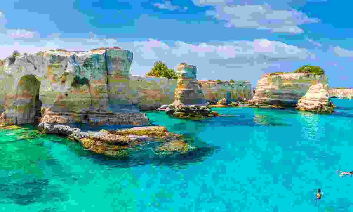 Torre Sant Andrea on the Salento coast, Puglia (Shutterstock)