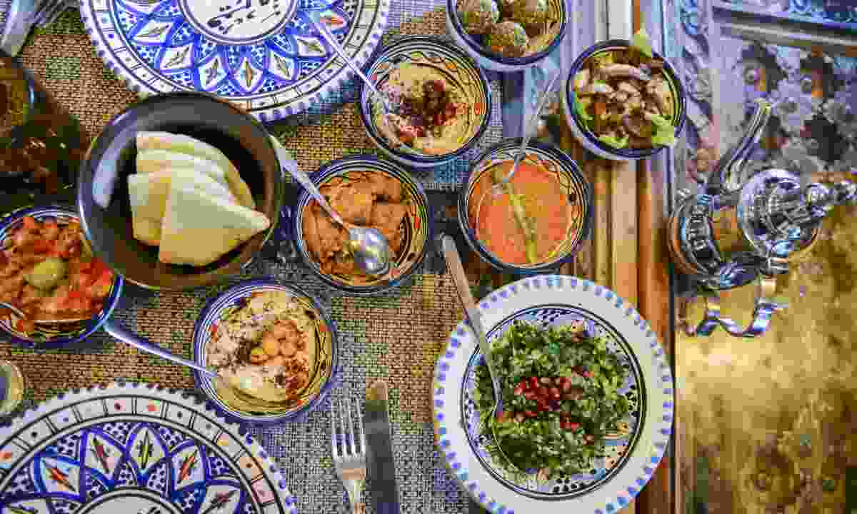 Middle Eastern meze (Dreamstime)