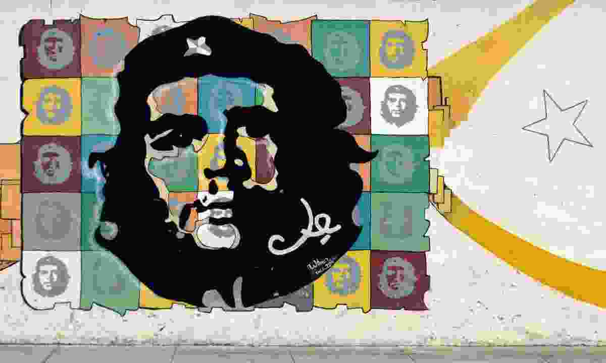 Che Guevara mural (Dreamstime)